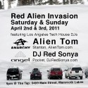 red alien invasion mammoth april 2011