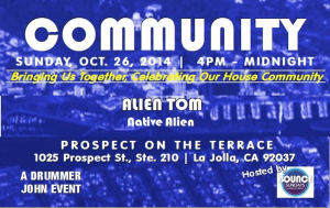 alien tom-live-at-community-la jolla-california