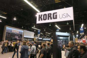 Korg Booth NAMM Show 2018