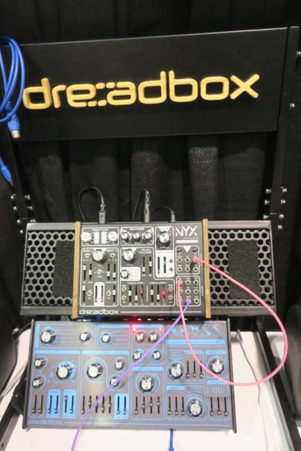 Dreadbox NYX & Dreadbox Abyss NAMM Show 2018