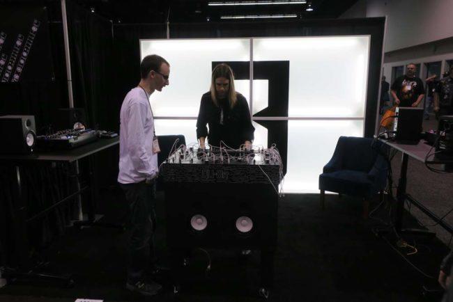 Qu-Bit Electronix NAMM 2018 Booth