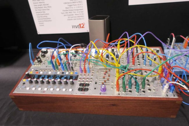 Five12 System NAMM 2018 Pic