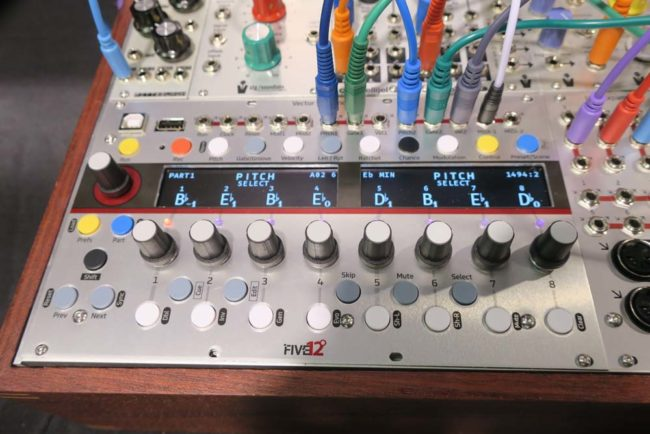 Five12 Vector Sequencer NAMM 2018