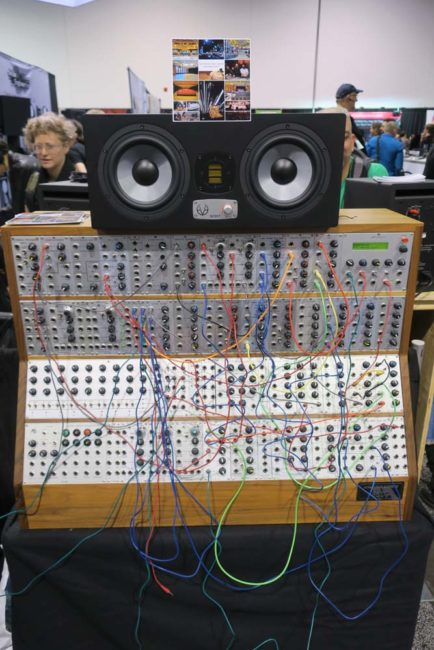 Analogue Systems 8500 Modular Synth NAMM 2018