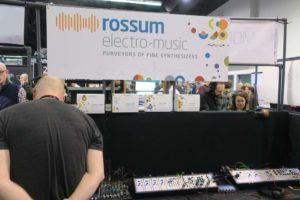 rossum eletro-music Booth NAMM 2018