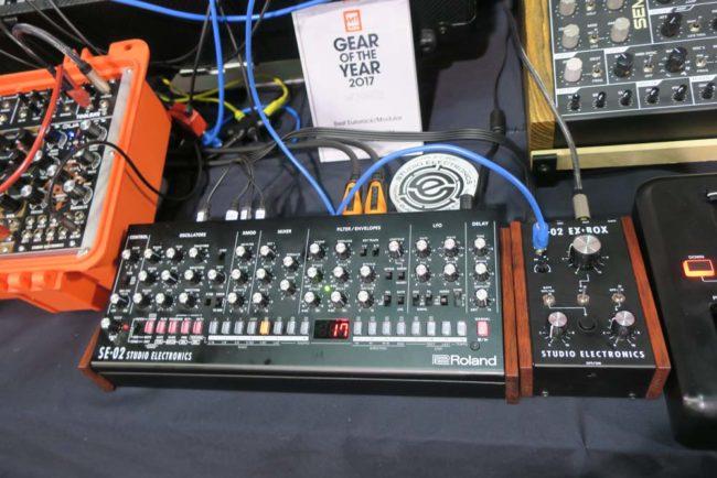 Studio Electronics SE-02 and SE-02 EX-BOX by Roland