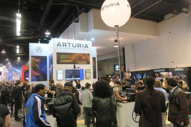 Arturia Booth NAMM Show 2018