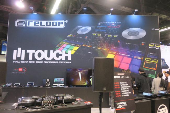 Reloop Booth NAMM 2018
