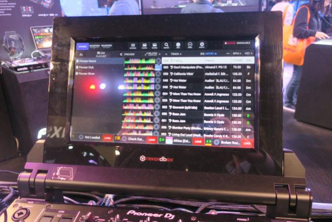 Pioneer DJM Tour-1 Screen NAMM 2018