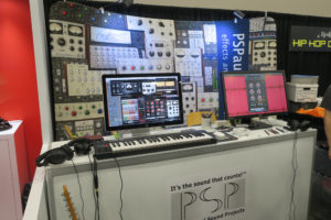 Professional Sound Projects Display NAMM 2018