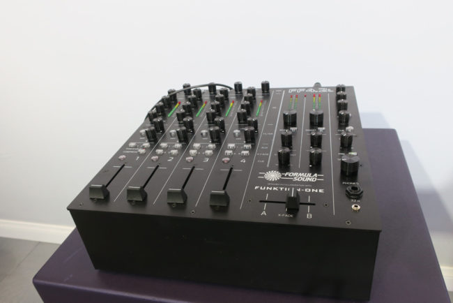 Funktion-One DJ Mixer NAMM 2018