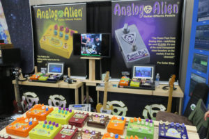 Analog Alien Display NAMM 2018