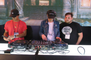 Pioneer DJ Booth Manik and Friends NAMM 2018