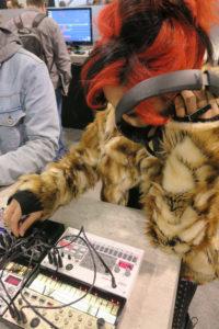 Mi$$y B Korg Booth NAMM Show 2018
