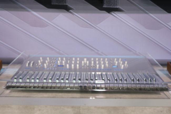 Silver Korg Prologue NAMM 2018