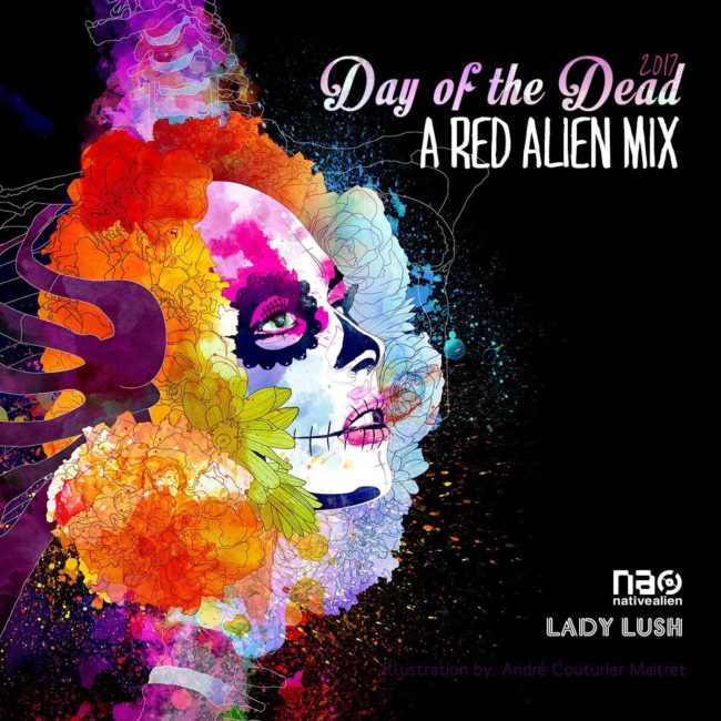 Red Alien Day of the Dead 9